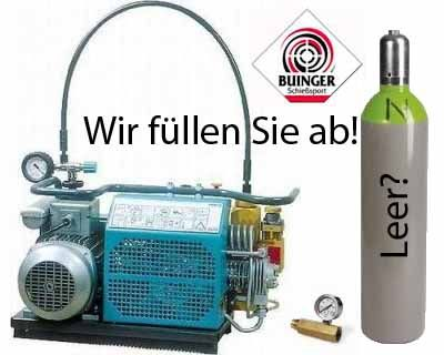 Pressluftflaschen-TÜV bei www.buinger.com