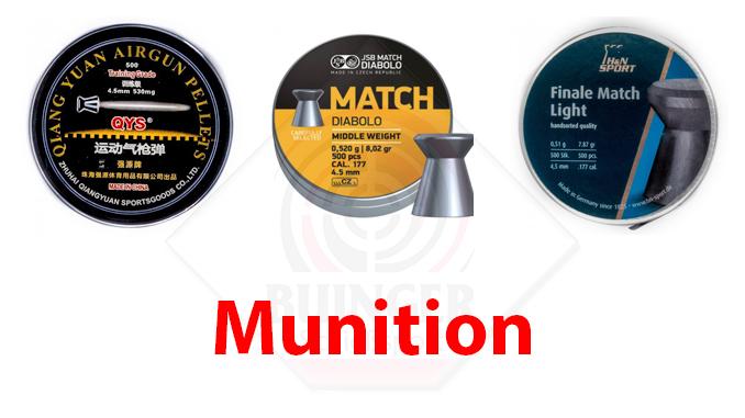 Munition auf www.buinger.de